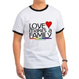 LOVE MAKES A FAMILY T