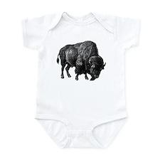 Bison Bull Infant Bodysuit