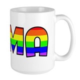 Mima Gay Pride (#004) Ceramic Mugs