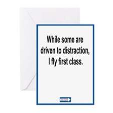 Driven to Distraction Greeting Cards (Pk of 20)