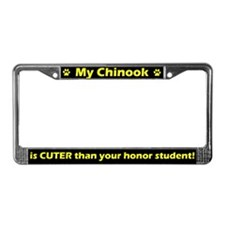Honor Student Chinook License Plate Frame