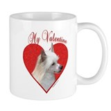 Crested(powder) Valentine Mug
