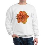 Coral Double Daylily Sweatshirt
