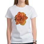 Coral Double Daylily Women's T-Shirt