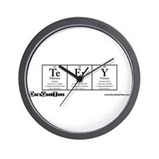 Te Er Ry Transparent Wall Clock
