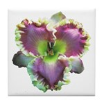 Lavender w/ Gold Daylily Tile Coaster
