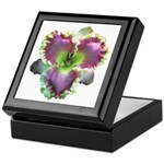Lavender w/ Gold Daylily Keepsake Box