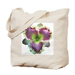 Lavender w/ Gold Daylily Tote Bag