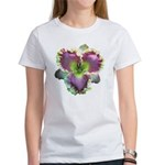 Lavender w/ Gold Daylily Women's T-Shirt