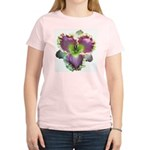 Lavender w/ Gold Daylily Women's Light T-Shirt
