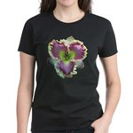 Lavender w/ Gold Daylily Women's Dark T-Shirt