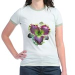 Lavender w/ Gold Daylily Jr. Ringer T-Shirt