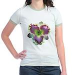 Lavender w/ Gold Daylily Jr. Ringer T-Shirt