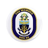 "USS Momsen DDG 92 3.5"" Button"