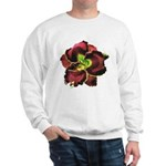 Dark Purple Daylily Sweatshirt