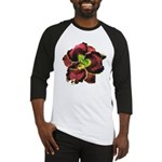 Dark Purple Daylily Baseball Jersey