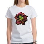 Dark Purple Daylily Women's T-Shirt