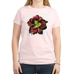 Dark Purple Daylily Women's Light T-Shirt