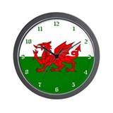 Wales Wall Clock