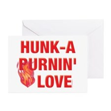 Hunk-A Burnin' Love Greeting Cards (Pk of 20)