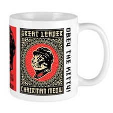 Chairman Meow - Cat Revolution Coffee Small Mug