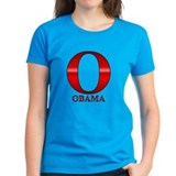 Red O for Barack Obama Tee