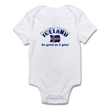 Iceland Flag Infant Bodysuit