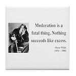 Oscar Wilde 19 Tile Coaster