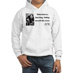 Oscar Wilde 19 Hooded Sweatshirt