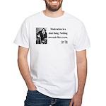 Oscar Wilde 19 White T-Shirt