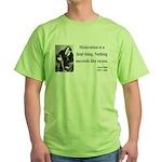 Oscar Wilde 19 Green T-Shirt
