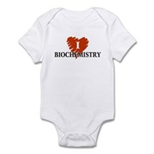 I Love Biochemistry Infant Bodysuit