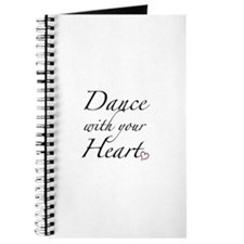 Dance with your Heart Journal