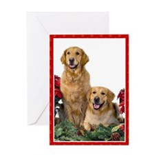 Goldens 286 Greeting Card
