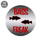 "3.5"" Button (10 pack) - Bass Freak"