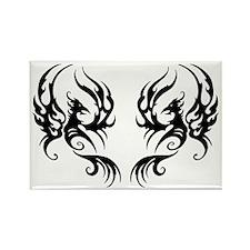 Phoenix Dance Rectangle Magnet