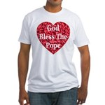 God Bless The Pope Fitted T-Shirt