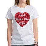 God Bless The Pope Women's T-Shirt