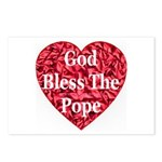 God Bless The Pope Postcards (Package of 8)