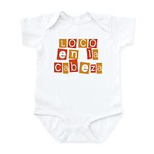 Loco en la Cabeza Infant Bodysuit