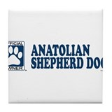 ANATOLIAN SHEPHERD DOG Tile Coaster