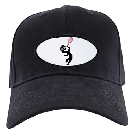 Kokopelli Tennis Black Cap