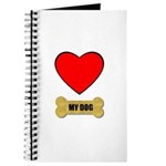 I LOVE MY BOXER Journal