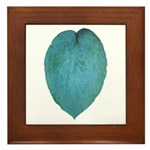Big Blue Hosta Framed Tile