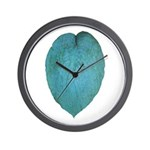 Big Blue Hosta Wall Clock