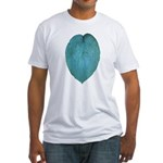 Big Blue Hosta Fitted T-Shirt
