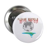 "Please recycle 2.25"" Button (100 pack)"