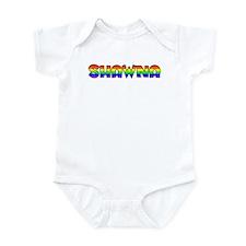 Shawna Gay Pride (#004) Infant Bodysuit