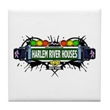 Harlem River Houses (White) Tile Coaster