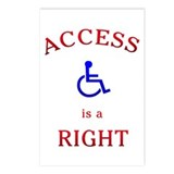 Access is a Right Postcards (Package of 8)